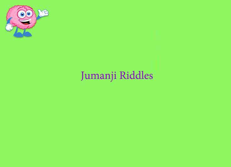 Jumanji Riddles And Answers