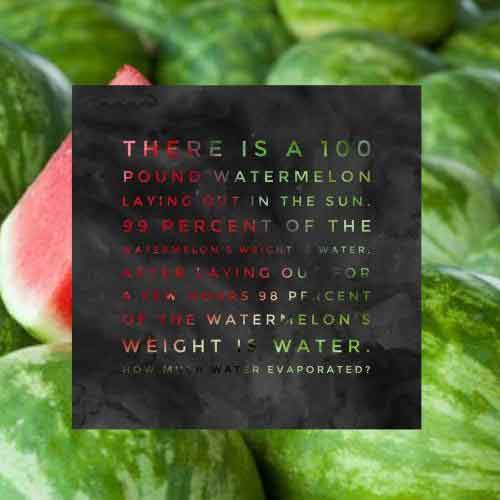Watermelon Riddles And Answers To Solve